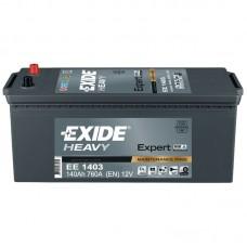 Акумулатор EXIDE Expert HVR 140ah