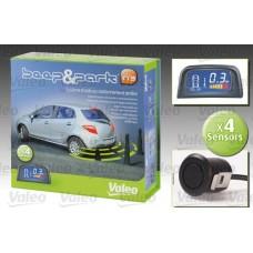 Парктроник система VALEO (4 датчика + вътрешен дисплей)